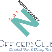 This is the restaurant logo for Officer's Club / North County