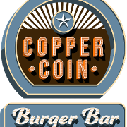 This is the restaurant logo for Copper Coin