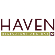 This is the restaurant logo for HAVEN Restaurant and Bar