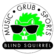 This is the restaurant logo for Blind Squirrel Restaurant
