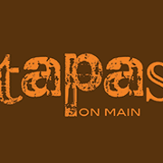 This is the restaurant logo for Tapas on Main / Cachette Bistro & Creperie