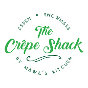 This is the restaurant logo for The Crepe Shack