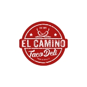 This is the restaurant logo for El Camino Taco Deli