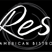 This is the restaurant logo for Res American Bistro