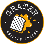 This is the restaurant logo for Grater Grilled Cheese