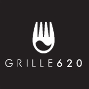 This is the restaurant logo for Grille 620