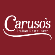 This is the restaurant logo for Caruso's Restaurant