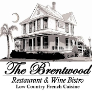 This is the restaurant logo for The Brentwood Restaurant & Wine Bistro