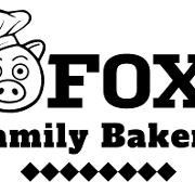 This is the restaurant logo for Fox Family Bakery