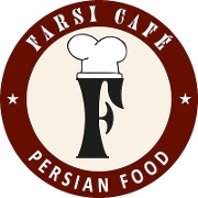 This is the restaurant logo for Farsi Cafe