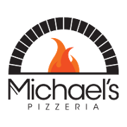 This is the restaurant logo for Michaels Pizzeria