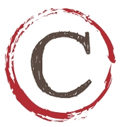 This is the restaurant logo for The Central Restaurant & Bar