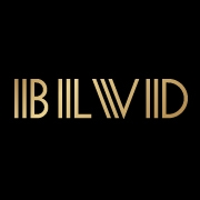 This is the restaurant logo for BLVD