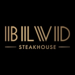 This is the restaurant logo for BLVD Steakhouse