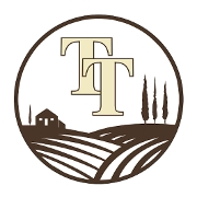 This is the restaurant logo for Trattoria Toscana