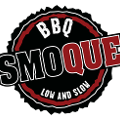 This is the restaurant logo for Smoque BBQ