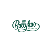 This is the restaurant logo for Ballyhoo Hospitality
