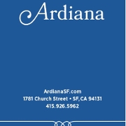 This is the restaurant logo for Ardiana