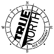 This is the restaurant logo for True North Ale Company