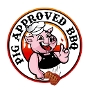 Restaurant logo for Pig Approved BBQ