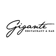 This is the restaurant logo for Gigante Restaurant & Bar