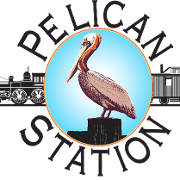 This is the restaurant logo for Dirty Al's Pelican Station