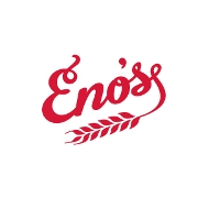 This is the restaurant logo for Eno's Pizza Tavern