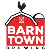 This is the restaurant logo for Barn Town Brewing