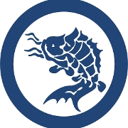 This is the restaurant logo for Sushi Azabu
