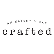 This is the restaurant logo for Crafted