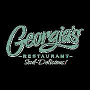 This is the restaurant logo for Georgia's Restaurant