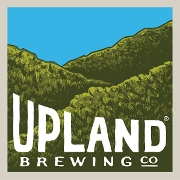 This is the restaurant logo for Upland Bloomington Brewpub