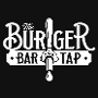 This is the restaurant logo for **Burger Bar & Tap