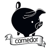 This is the restaurant logo for Comedor