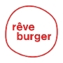This is the restaurant logo for Rêve Burger