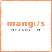 This is the restaurant logo for Mangos