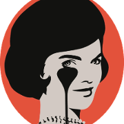 This is the restaurant logo for Jackie - American Bistro