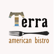 This is the restaurant logo for Terra American Bistro