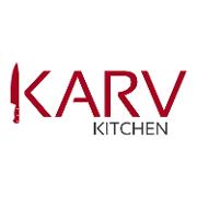 This is the restaurant logo for KARV Kitchen