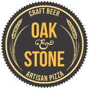 This is the restaurant logo for Oak & Stone - Naples