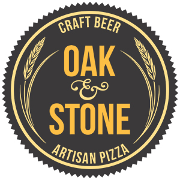 This is the restaurant logo for Oak & Stone - Downtown St Pete