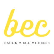 This is the restaurant logo for BEC