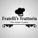 This is the restaurant logo for Fratelli's Restaurant
