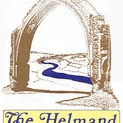 This is the restaurant logo for The Helmand