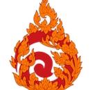 This is the restaurant logo for ALOY THAI-DENVER