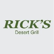 This is the restaurant logo for Rick's Desert Grill
