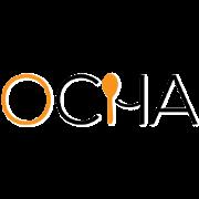 This is the restaurant logo for OCha Thai Kitchen & Cafe