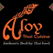 This is the restaurant logo for ALOY THAI-BOULDER