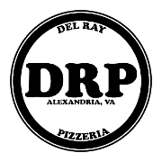 This is the restaurant logo for Del Ray Pizzeria