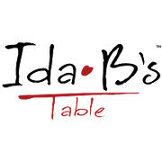 This is the restaurant logo for Ida B's Table